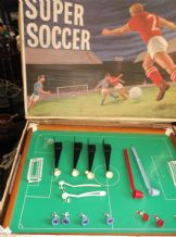 VINTAGE LARGE TABLE TOP SUPER SOCCER MAJOR TOOGOOD JONES IN ORIGINAL BOX